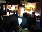 Just hanging out with Bradley Cooper. By Annie Torres